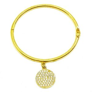 KATE SPADE~all that glitters~PAVE IDIOM BRACELET